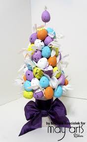 easter decor egg tree may arts wholesale ribbon company