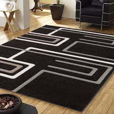 Modern Black Rug How To Style Your Home Using Black Modern Rugs