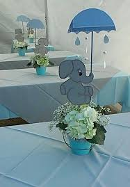 baby boy centerpieces my centerpiece baby shower elephant theme my creations