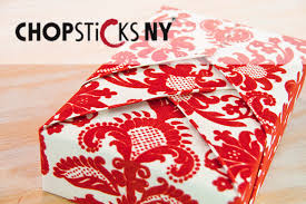 japanese present wrapping press shiho style design