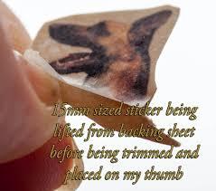 belgian sheepdog jewelry malinois nail art belgian shepherd dog nail art stickers