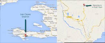 Haiti Map Trinity Hope