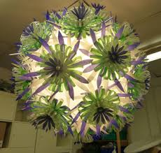 Create A Chandelier Glendoick Garden Centre Sarah Creatively Reused 155 Waste Plastic