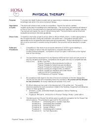 Resume Community Service Example by Awesome To Do Physical Therapy Resume Sample 2 Therapist Example