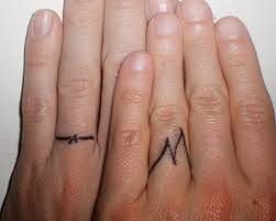gaining small matching tattoos for couples