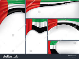 Colors Of Uae Flag Abstract Uae Flag Emirates Colors Vector Stock Vector 599084207