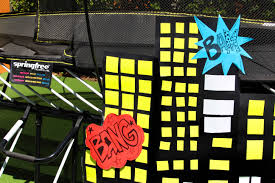 Safest Trampoline For Backyard by Superhero Fun In Your Backyard