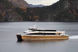 jin zhu hu u2014 brodrene aa fast ferries in carbon fibre composite