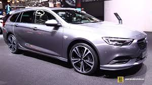 opel chicago 2018 opel insignia sports tourer exterior and interior