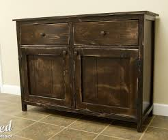 how to build a diy sideboard buffet cabinet 15 steps with