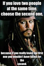 Meme Quotes - jack sparrow meme two people at the same time choose the