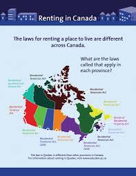 Map Of Canada Provinces Faq Are Laws About Renting The Same Across Canada Cplea