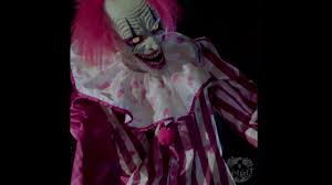 spirit halloween 2017 towering clown animated prop youtube
