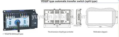 123 yeq2f socomec manual changeover switch 3 phase automatic