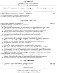 Perfect Resume Format Sample One Page Resume Format Template