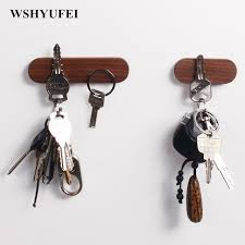 wshyufei solid wood key holder wall hanging wood wall hanging car
