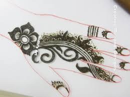 thick and dark gulf style henna mehndi design tutorial nidhi u0027s art