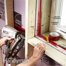 How To Build A Wall In A Basement by How To Finish A Basement Wall Family Handyman