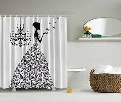 bathroom accessories madame butterfly black chandelier black