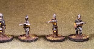 Splintered Light Miniatures 17 Splintered Light Miniatures 15mm Guards With Crossbows