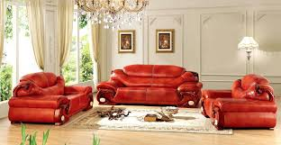 Red Recliner Sofa Red Faux Leather Reclining Sofa Furniture Set Popular Wood Buy