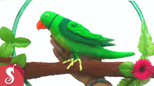 diy woolen parrot wall hanging for home decoration youtube