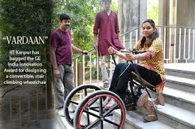 vardaan stair climbing wheelchair innovation india