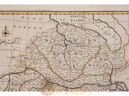 East Germany Map by Kingdom Bohemia Old Map Bowen 1743 Mapandmaps Com