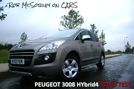 peugeot 3008 2012 robmcsorleyoncars 2012 peugeot 3008 hybrid4 full road test