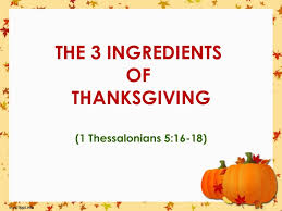 thanks living sermon for thanksgiving