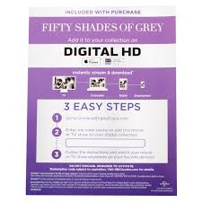 fifty shades of grey unrated blu ray dvd digital hd