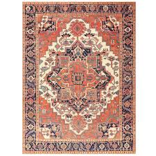 antique persian serapi rug persian modern and personal space