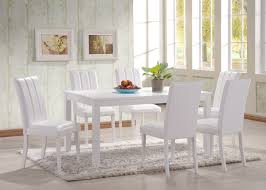 hgg 7 piece dining table and chairs white dining table and