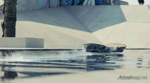 lexus hoverboard test video hoverboard lexus floating in water autonetmagz