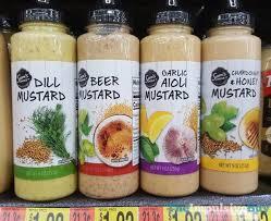 dill mustard sam s choice dill mustard mustard garlic aioli mustard and