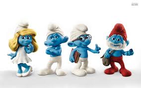 smurfs cartoons wallpapers
