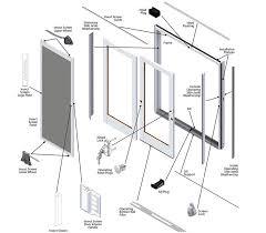 Andersen Patio Door Hardware Replacement Andersen Frenchwood Gliding Patio Door Replacement Parts