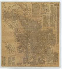 Map Downtown Portland by Portland City Archives Oregon Sustainable Community Digital