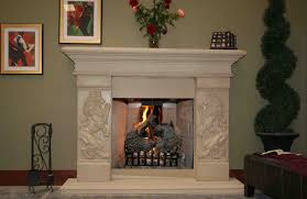 limestone fireplace surround is a new mainstream of decoration