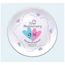 ninth anniversary gift spectacular 9th wedding anniversary gift b61 on pictures gallery