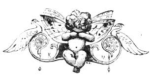 free vintage clip art fairy ornament the graffical muse
