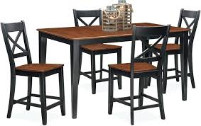 high top dining chairs dining height dining room sets with swivel