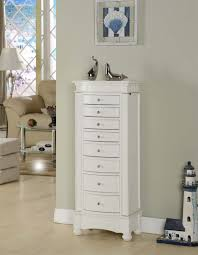 Jewelry Armoire Antique White Antique White Jewelry Box Caymancode