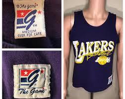90s lakers shirt etsy