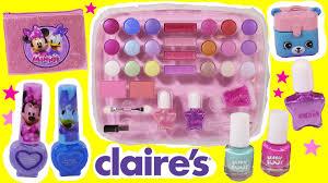 kid u0027s makeup palette case minnie mouse lip gloss beanie boos