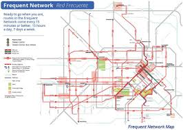 Mexico City Metro Map by Tei Traffic Engineers Inc Metro U0027s New Bus Network System Map