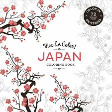 booktopia japan coloring book vive le color by marabout