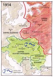 European Map 1914 by The Borderless Post The Map And The Territory Central Europe In