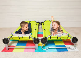 Portable Bunk Beds Portable Bunk Bed Is For Slumber Partying On The Go