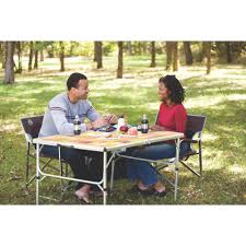 coleman patio heater with light outdoor folding tables compact folding table coleman